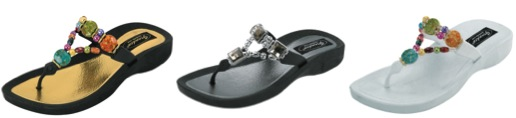 grandco beaded and jeweled sandals
