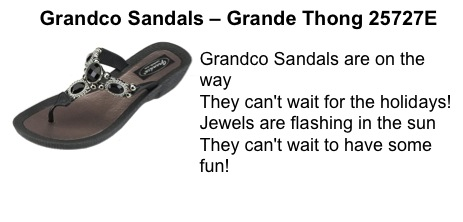 Poetry Day with Grandco Sandals