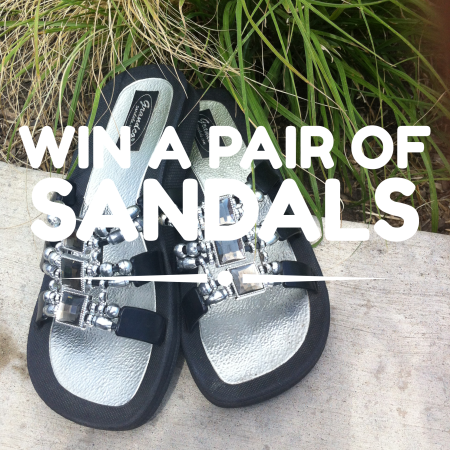 win a pair of grandco sandals